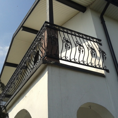 Balustrada metalowa kuta - prod B02
