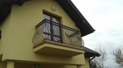 Balustrada metalowa kuta - prod B03