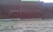 ogrodzenie sztachetowe D015