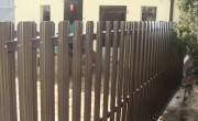 brama wjazdowa przesuwna sztachetowa D06
