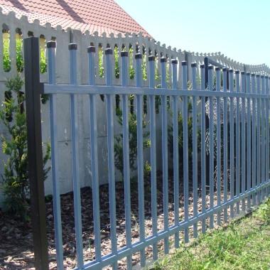 ogrodzenie słupkowe E02